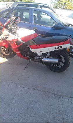 Kawasaki GPZ 750, 66.000 km, 7.900 kr