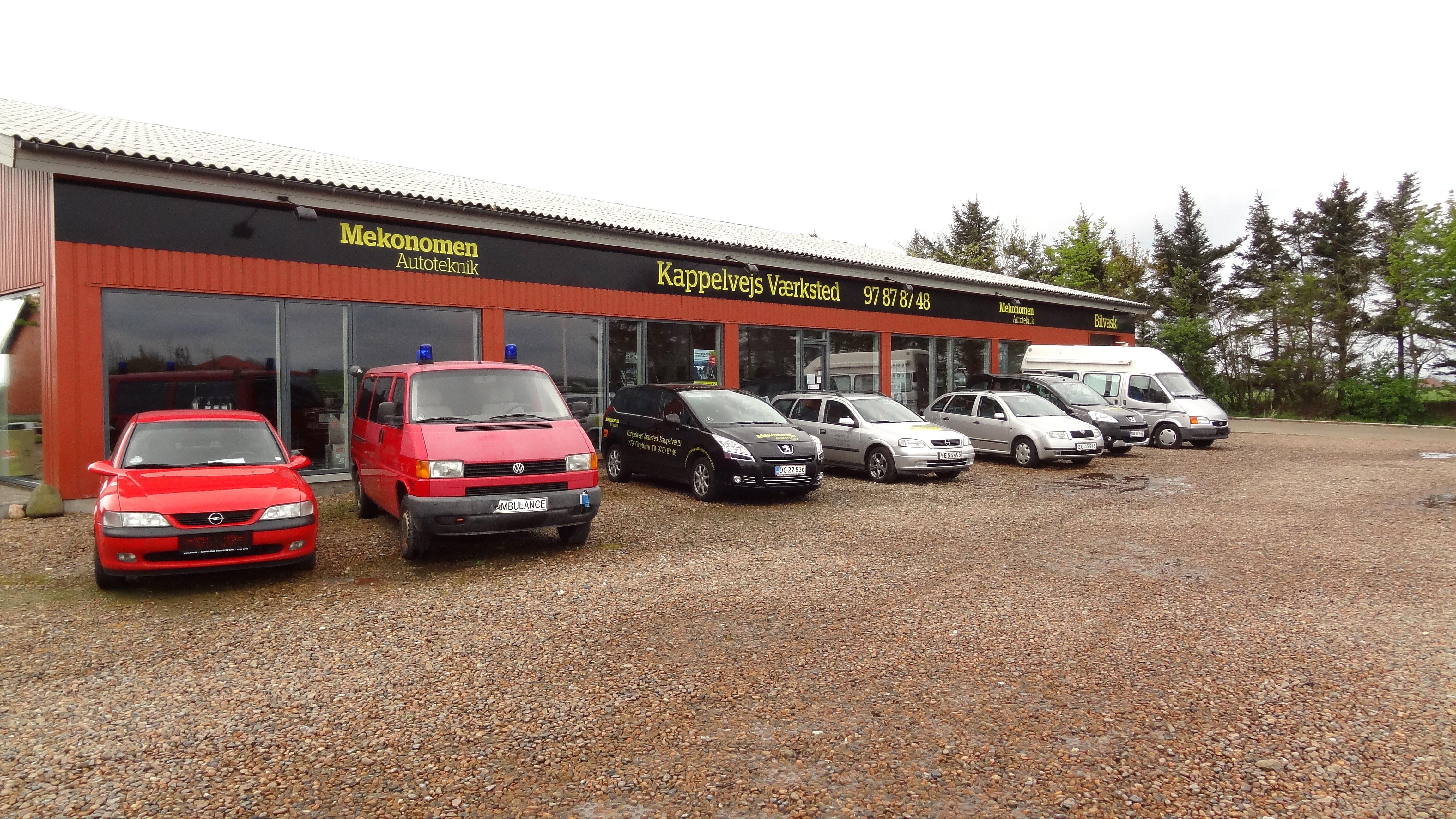 Kappelvejs Værksted ApS autoværksted i 7790 Thyholm - en del af DBR - Dansk Bilbrancheråd
