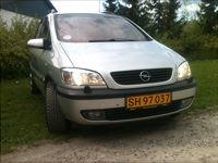 Opel Zafira, 188.000 km, 18.500 kr