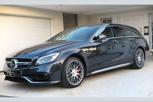 Billede 1: Mercedes-Benz CLS 63 S AMG Shooting Brake B&O-Carbon-Designo