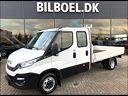 Iveco Daily 2,3 35C16 Db.Cab m/lad, 3.000 km, 234.800 kr