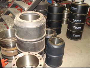 Billede 1: BremsetromlerVolvo-Scania-BPW -Saf