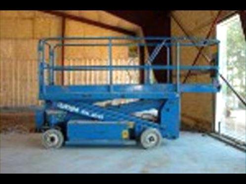 Billede 1: Bygge lift - pris pr. dag: 500 kr