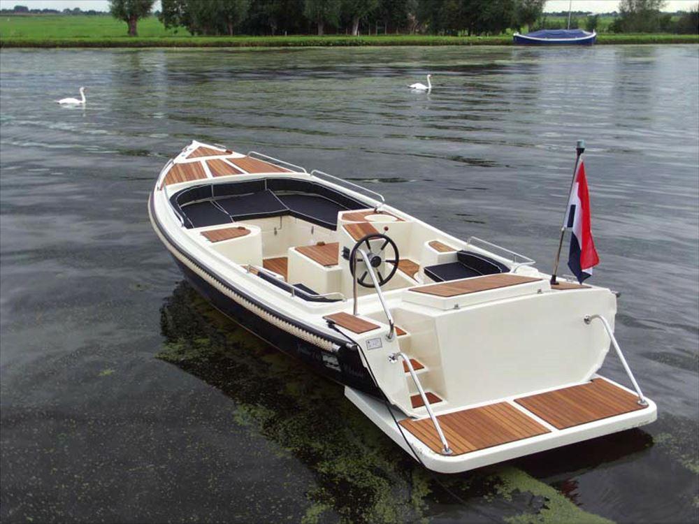 Fjordjollen 710 Classic M. F15 motor