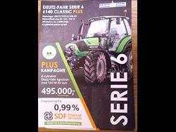 Deutz Fahr 6140 Classic Plus, 495.000 kr