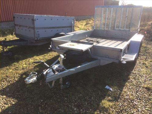 Billede 2: Maskin trailer - Pris Pr. dag: 375 kr