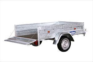 variant Højtbygget ståltrailer