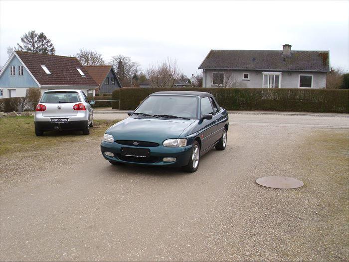 Billede 1: FordEscort 1,6i 16V Cabriolet