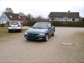 Ford Escort 1,6i 16V Cabriolet, 119.000 km, 22.500 kr