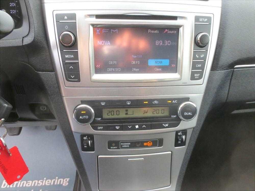 Billede 9: ToyotaAvensis1,8 VVT-i T2 Premium stc.