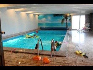 Billede 1: 16 personers pool hus