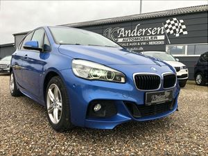 BMW 220d 2,0 Active Tourer xDrive aut., 91.000 km
