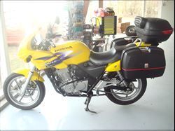 Honda CB500, 38.000 km, 34.900 kr