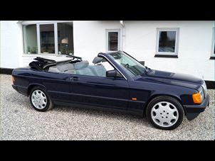 Billede 1: Mercedes-Benz190CABRIOLET 2,3 AUT.