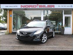 Mazda 6 2,2 DE 129 Advance stc., 120.000 km, 109.900 kr