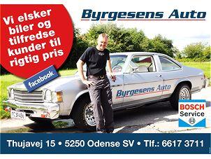 Byrgesens Auto Eftf. ApS.