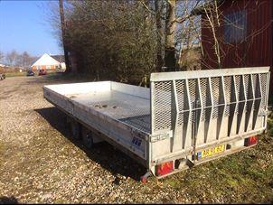 Billede 1: Maskin trailer - Pris Pr. dag: 375 kr