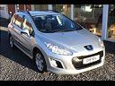 Peugeot 308 1,6 e-HDi 112 Access stc., 120.000 km, 89.800 kr