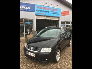Billede 1: VW Touran 2,0 TDi 140 Highline DSG
