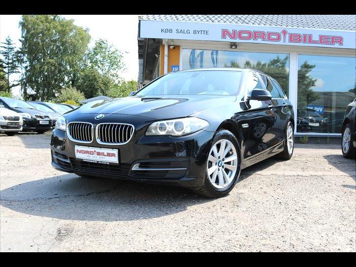 Billede 1: BMW520d2,0 Touring aut.