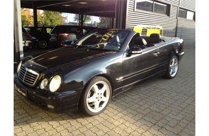 Billede 1: Mercedes-BenzCLK3203,2 Cabriolet Elegance aut.