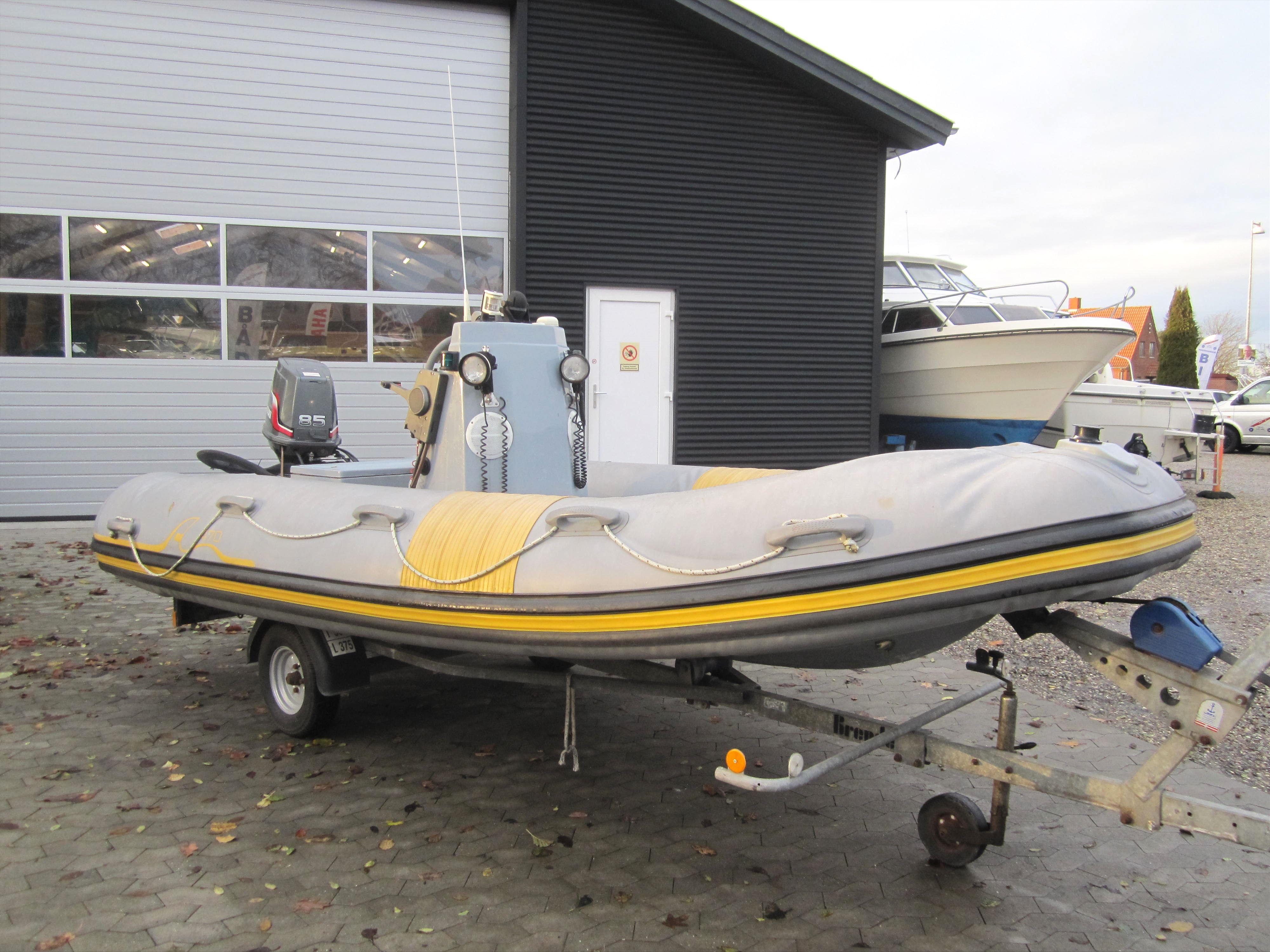 Airman Rib båd 2007 | Kenns Biler og Både | Autoværksted i Rønnede | Salg af brugt bil og båd