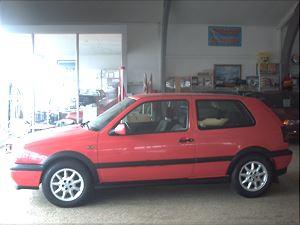 VWGolfIII 2,0 GTi, 187.000 km