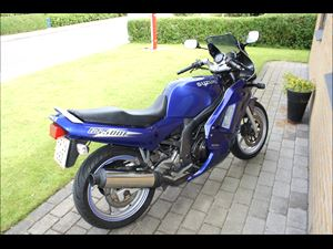 Billede 1: SuzukiGS 500E