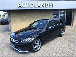 Billede 1: Mercedes-BenzC 2502,2 BlueTEC AMG Line stc. aut.