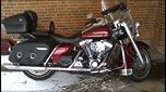 Harley Davidson Road King 1450, 30.606 km, 210.000 kr