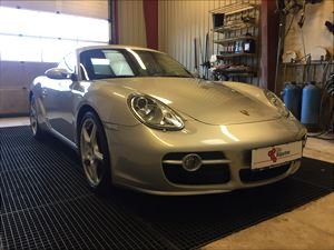 PorscheCayman, 54.000 km