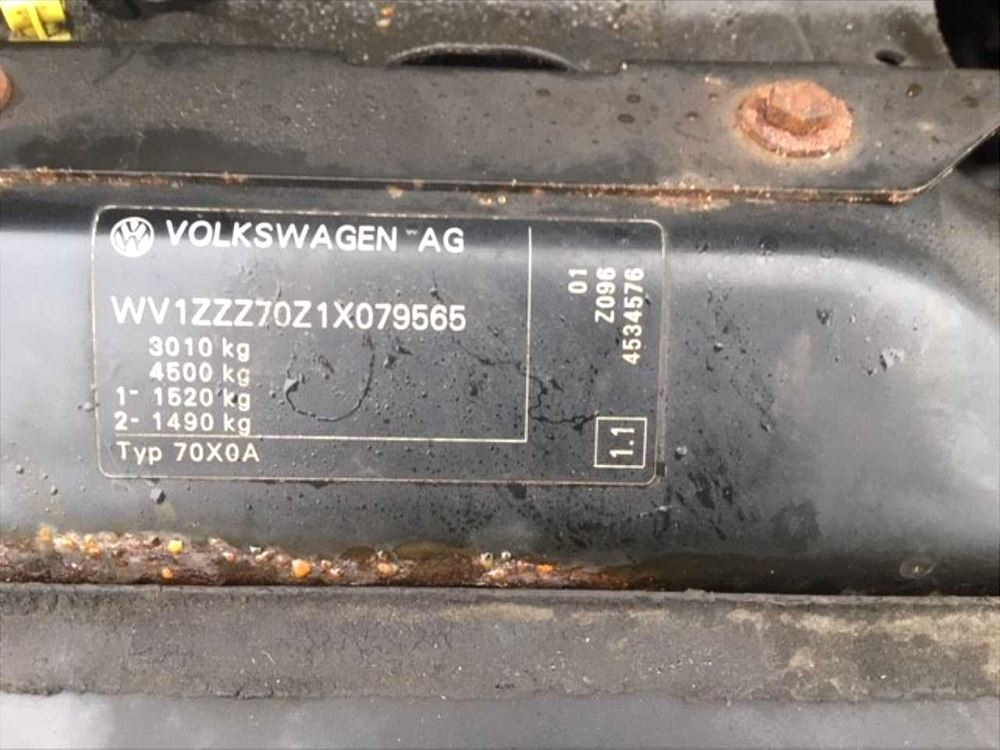 VW Transporter T4 90-03 2.5TD